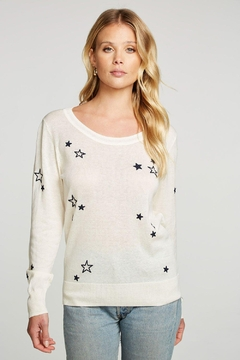 Chaser Embroidery Stars Pullover - Product List Image