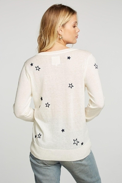 Chaser Embroidery Stars Pullover - Alternate List Image