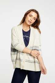 Chaser Fair Isle Button-Down - Front cropped