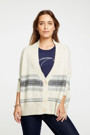 Chaser Fair Isle Button-Down - Front full body