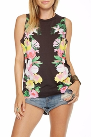 Chaser Floral Top - Front cropped