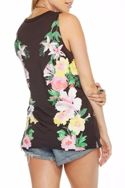 Chaser Floral Top - Front full body