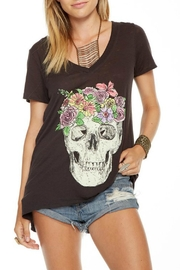 Chaser Flower Crown Tee - Front cropped