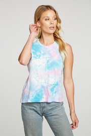 Chaser Flower Peace Tee - Product Mini Image