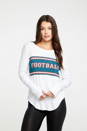 Chaser Football Ribbed Tee - Product Mini Image