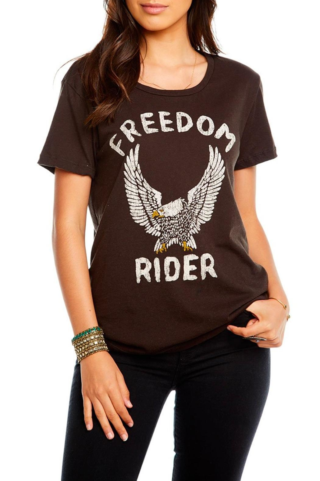 Chaser Freedom Rider Tee - Front Cropped Image