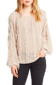 Chaser Fringed Pullover Sweater - Product Mini Image
