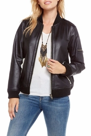 Chaser Fur Lined Bomber - Front cropped
