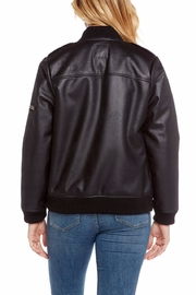 Chaser Fur Lined Bomber - Side cropped