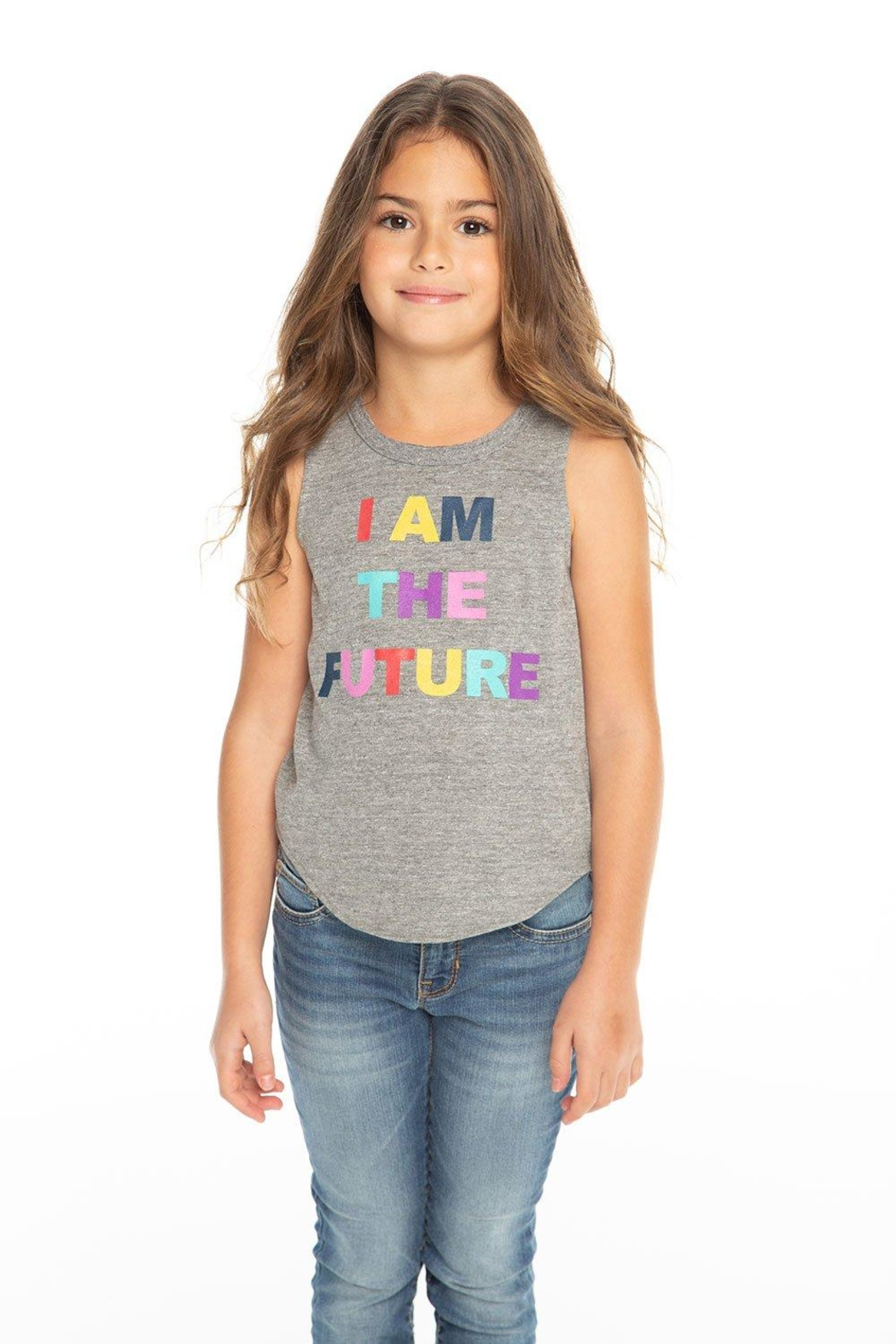 Chaser Future Muscle Tee - Side Cropped Image