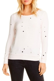 Chaser Glitter Stars Pullover - Product Mini Image