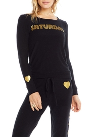 Chaser Golden Saturday Pullover - Front cropped