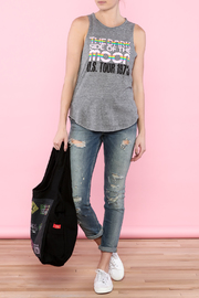 Chaser Gray Graphic Tee - Front full body