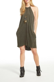 Chaser Halter Shift Dress - Product Mini Image