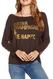 Chaser Happy Champagne Tee - Front cropped