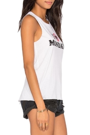 Chaser Hate Mondays Tank - Front full body