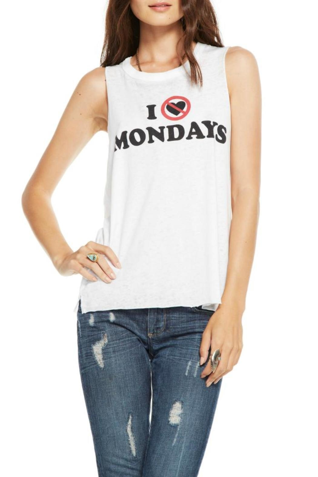 Chaser Hate Mondays Tank - Main Image