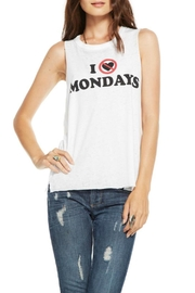Chaser Hate Mondays Tank - Front cropped