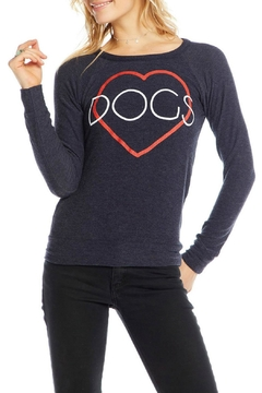 Chaser Heart Dog Sweat Shirt - Alternate List Image