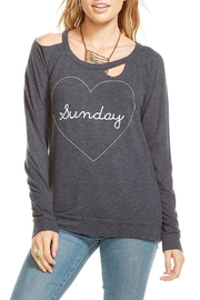 Chaser Heart Sunday Pullover - Product Mini Image