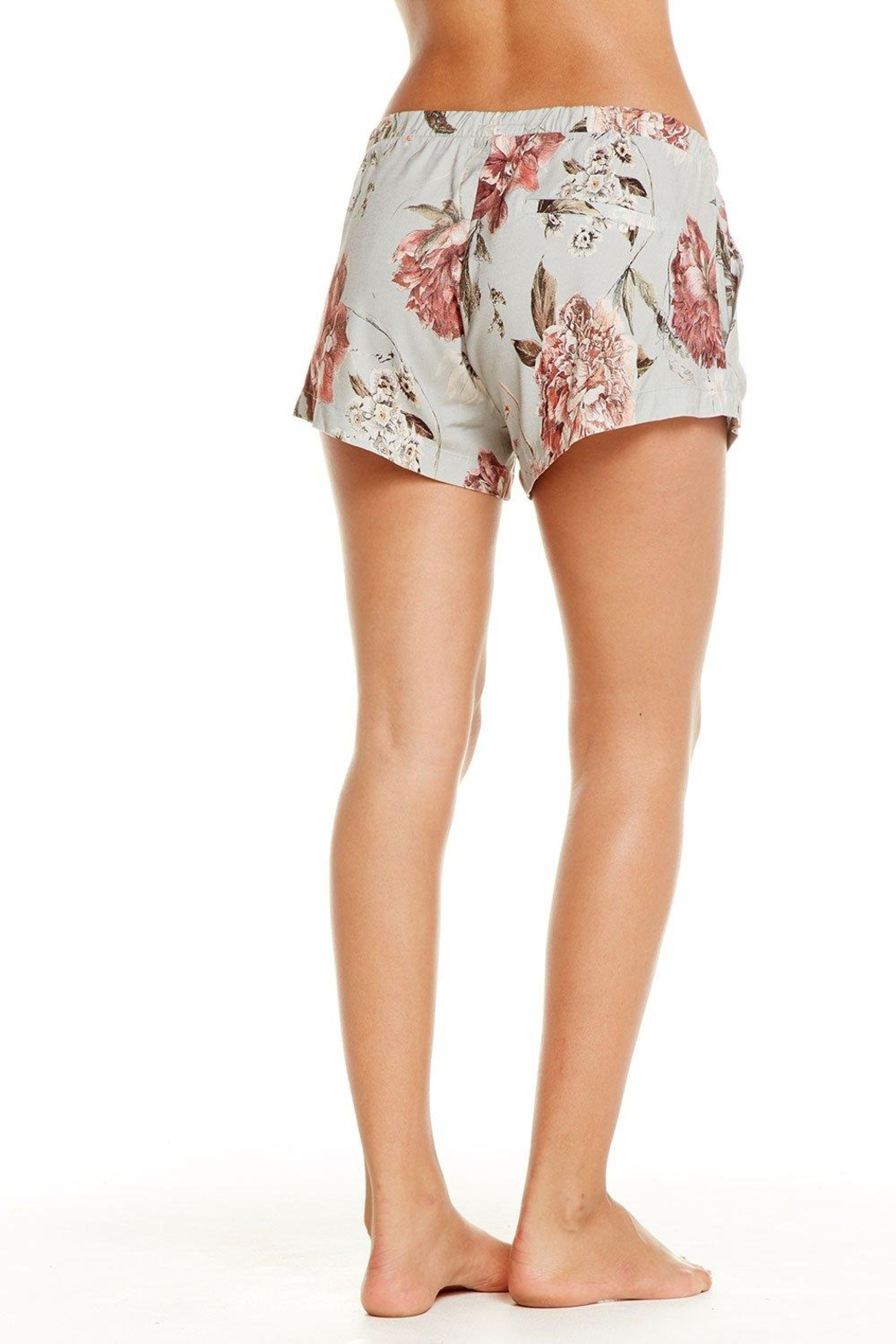 Chaser Heirloom Lace-Up Shorts - Front Full Image