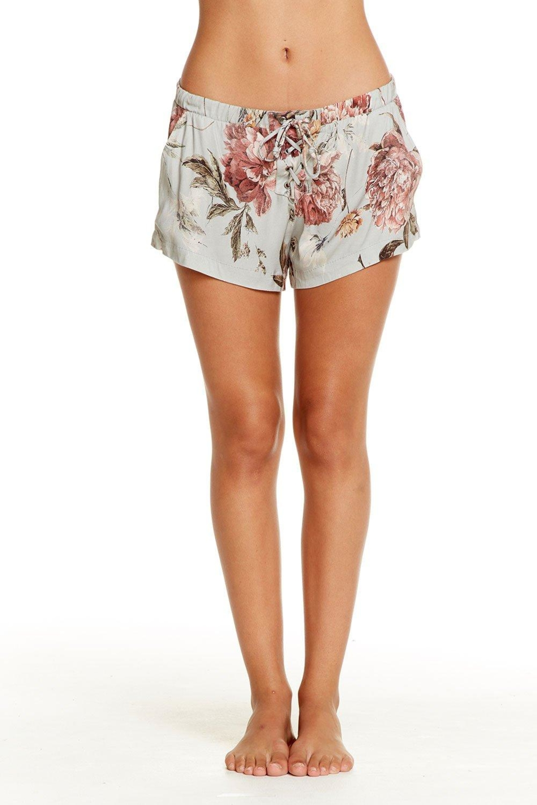 Chaser Heirloom Lace-Up Shorts - Main Image