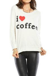 Chaser I Heart Coffee Top - Product Mini Image
