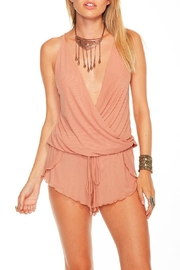 Chaser Intimates Romper Blush - Front cropped