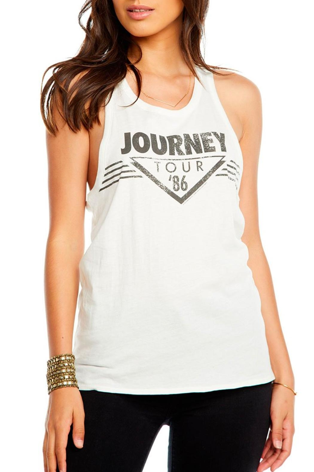 Chaser Journey Vintage Tank - Front Cropped Image