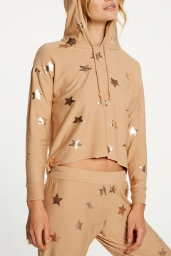 Chaser Knit Stars Hoodie - Product List Image