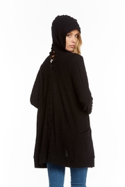 Chaser Lace-Back Hooded Cardigan - Other