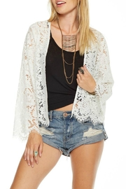 Chaser Lace Bell Sleeve Jacket - Product Mini Image