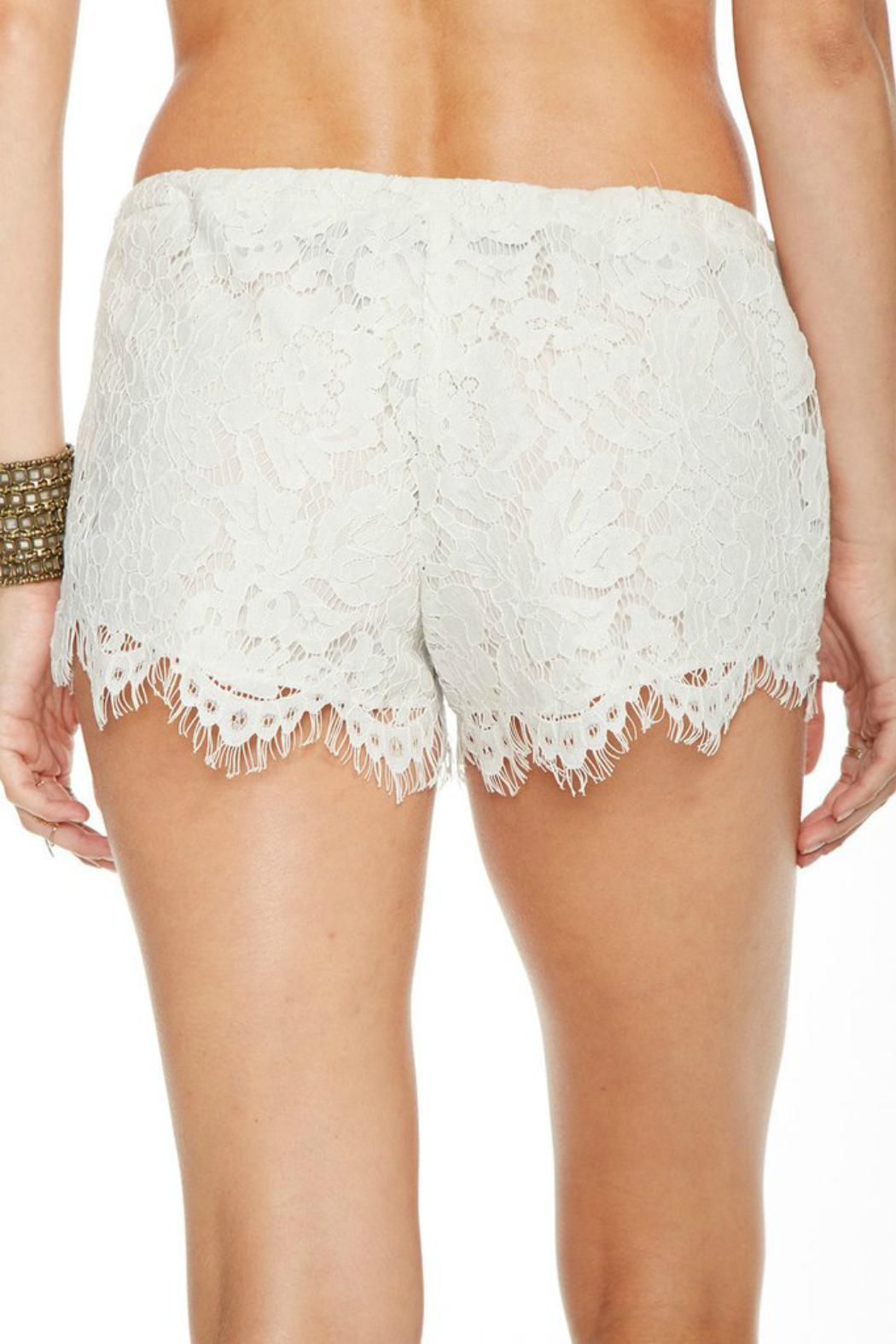 Chaser Lace Shorts - Front Full Image