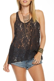 Chaser Lace T-Back Tank - Product Mini Image
