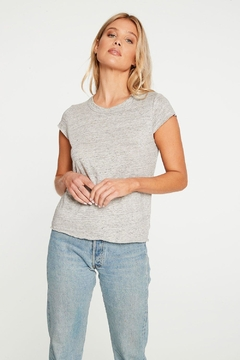Chaser Linen Jersey Cropped - Product List Image