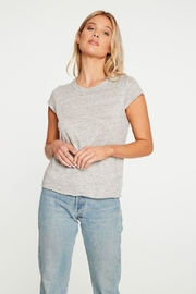 Chaser Linen Jersey Cropped - Product Mini Image