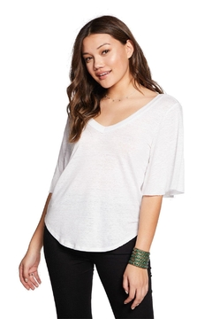 Chaser Linen Jersey Tee - Product List Image