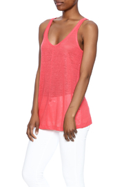 Chaser Linen Sporty Tank - Product Mini Image