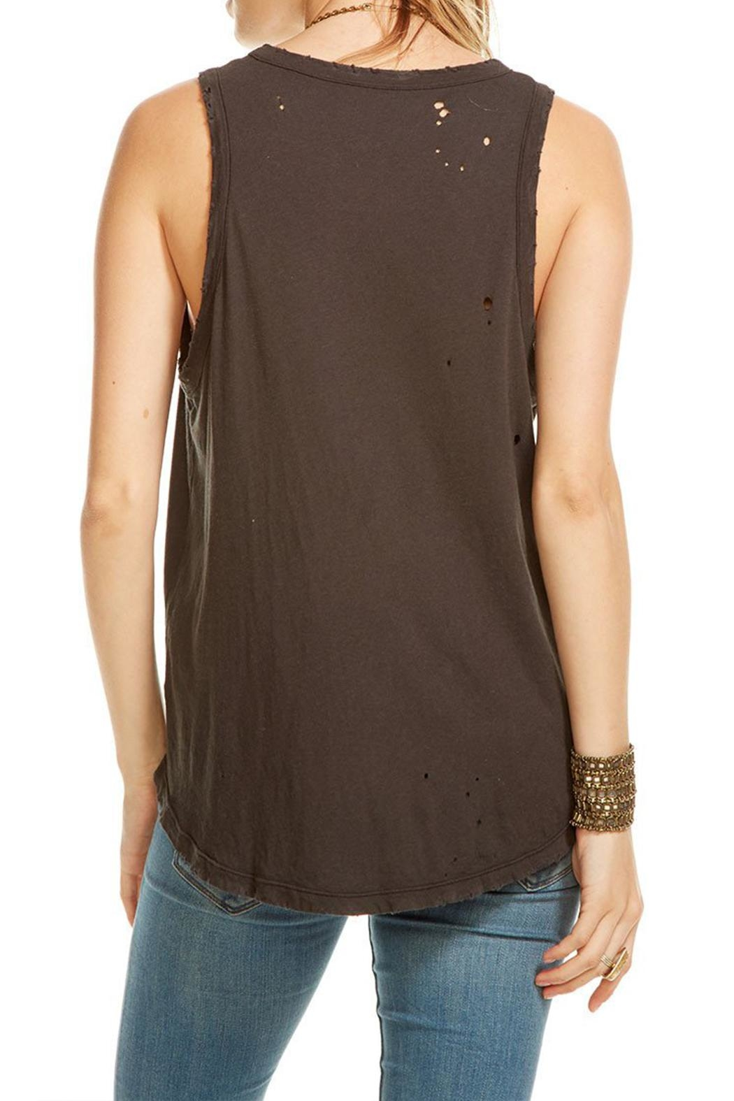 Chaser Lip Drip Tank Top - Side Cropped Image