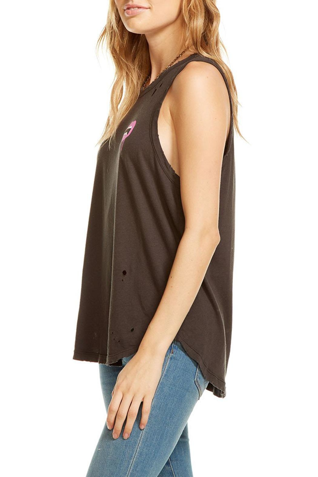 Chaser Lip Drip Tank Top - Front Full Image