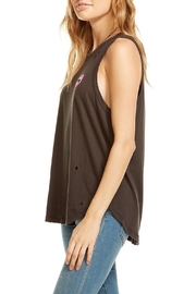 Chaser Lip Drip Tank Top - Front full body