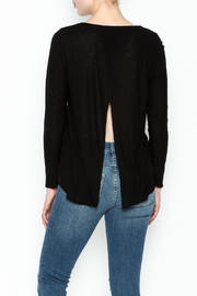 Chaser Long Sleeve Open Back Tee - Back cropped