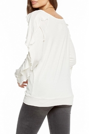 Chaser Long-Sleeve Ruffle Top - Side cropped