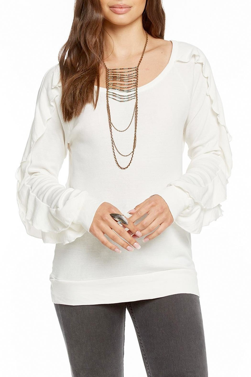 Chaser Long-Sleeve Ruffle Top - Main Image