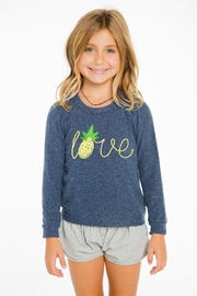 Chaser Love Pineapple Sweater - Product Mini Image