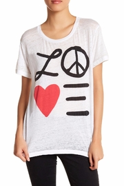 Chaser Love Tee Top - Product Mini Image