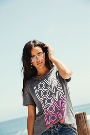 Chaser Love Tee - Front cropped