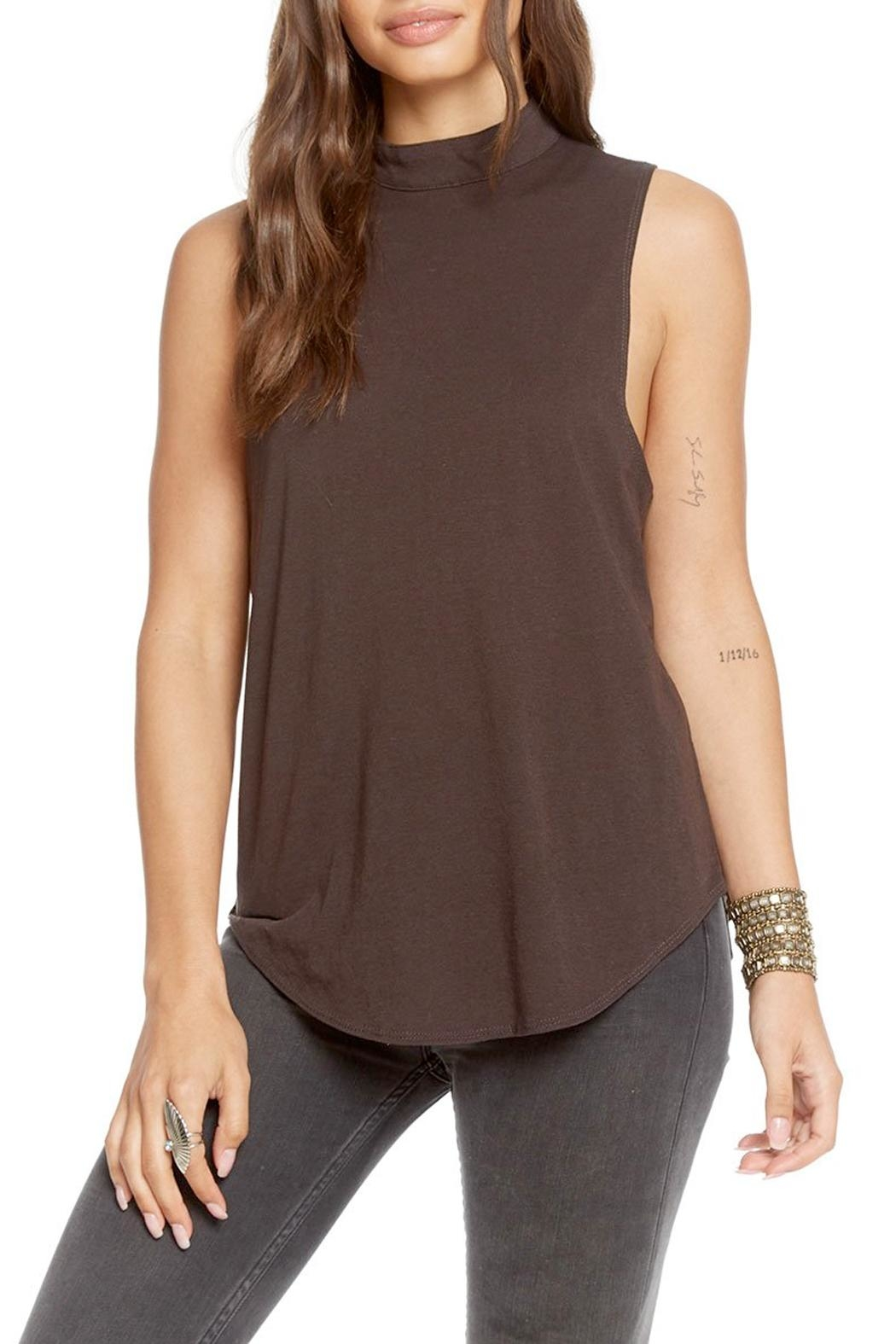 fa33c09fadd2c Chaser Mock Turtleneck Tank from California by pinkadot — Shoptiques
