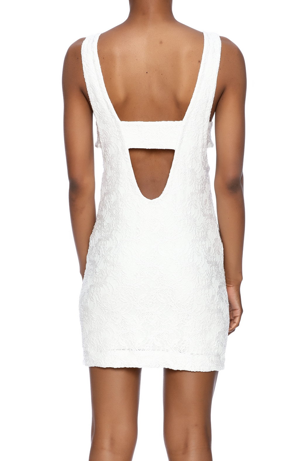 Chaser Mod Mini Dress - Back Cropped Image