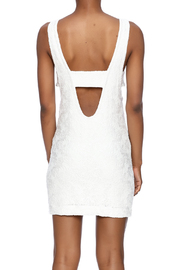 Chaser Mod Mini Dress - Back cropped